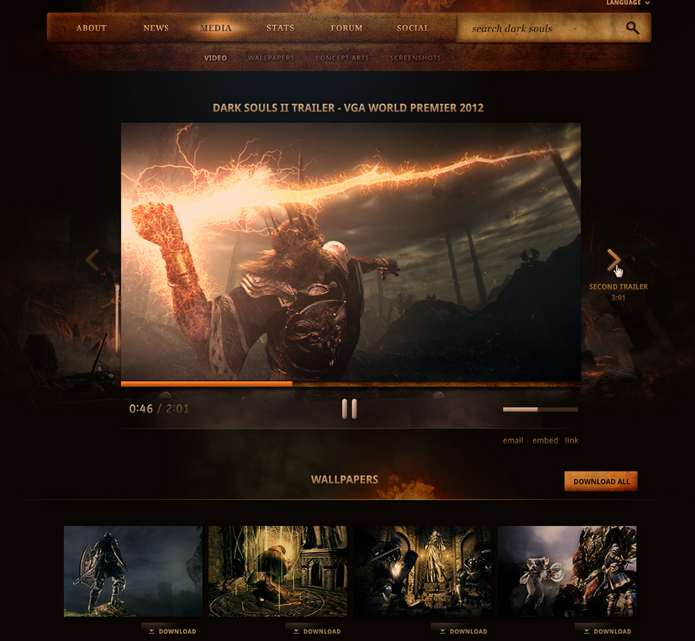 plan of mobile platform for Dark Souls2