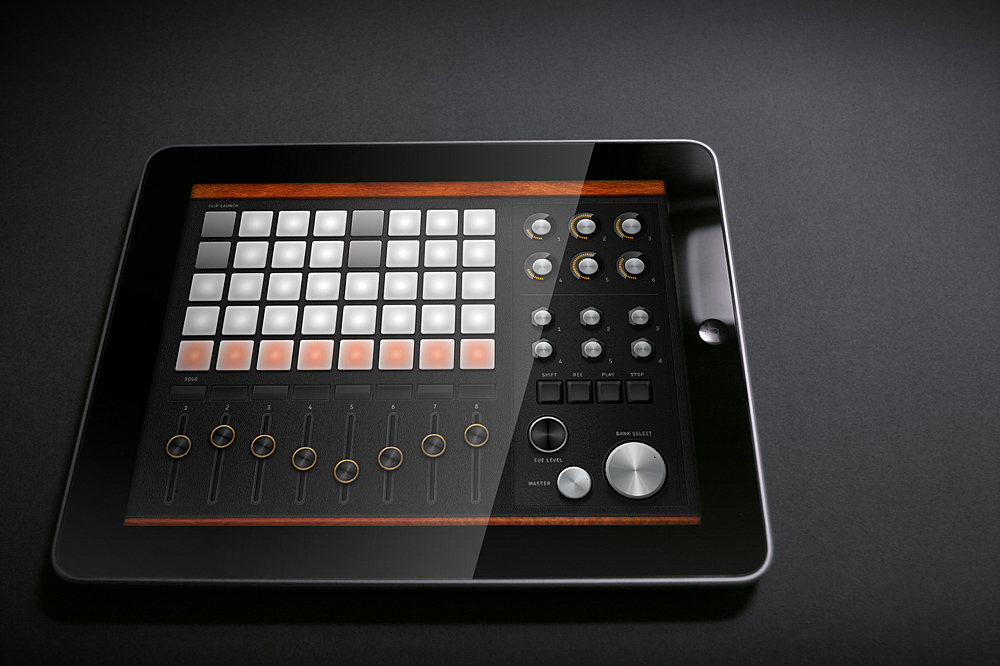 live controller for ipad